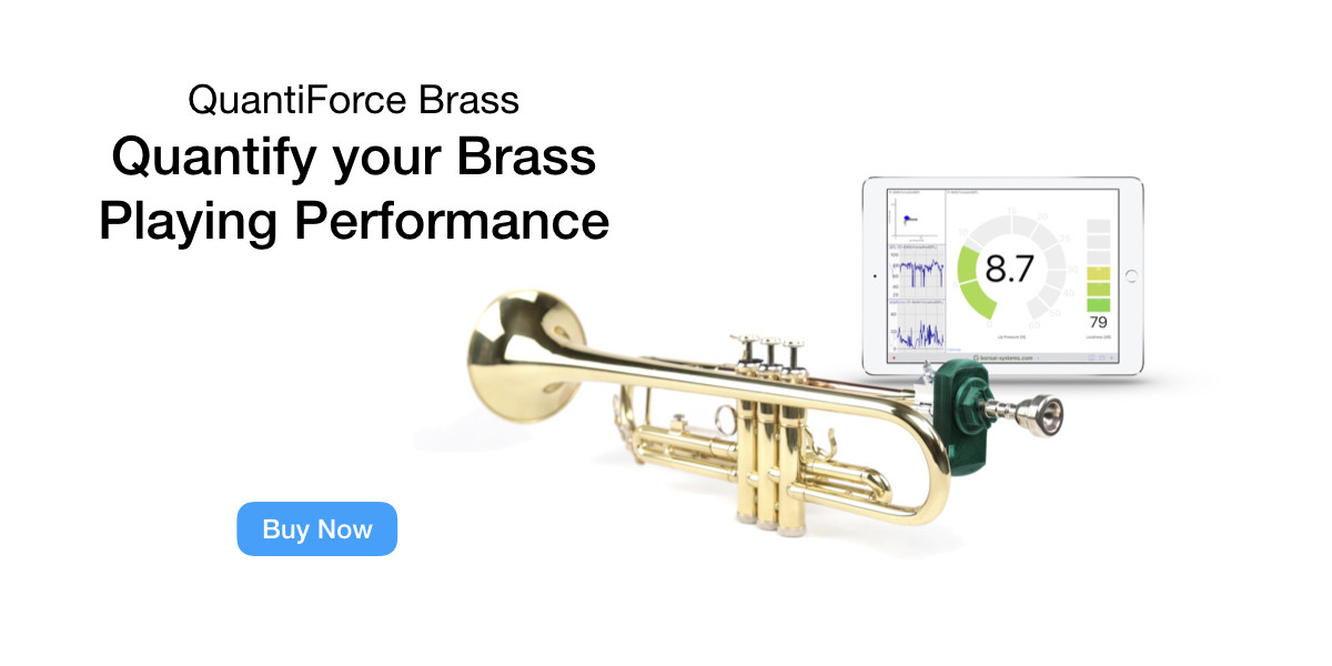 Quantify your brass playing performance.