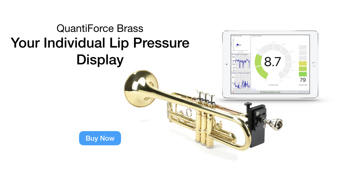 Your Individual Lip Pressure Display